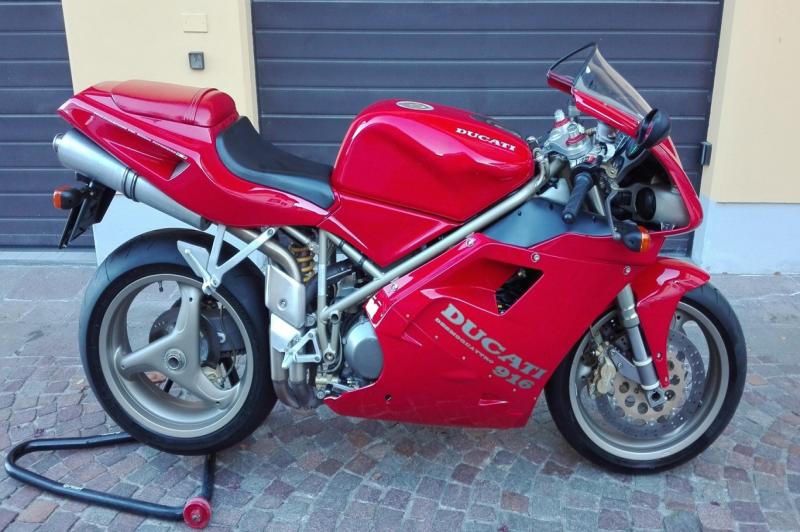 Ducati 916 Biposto prima serie