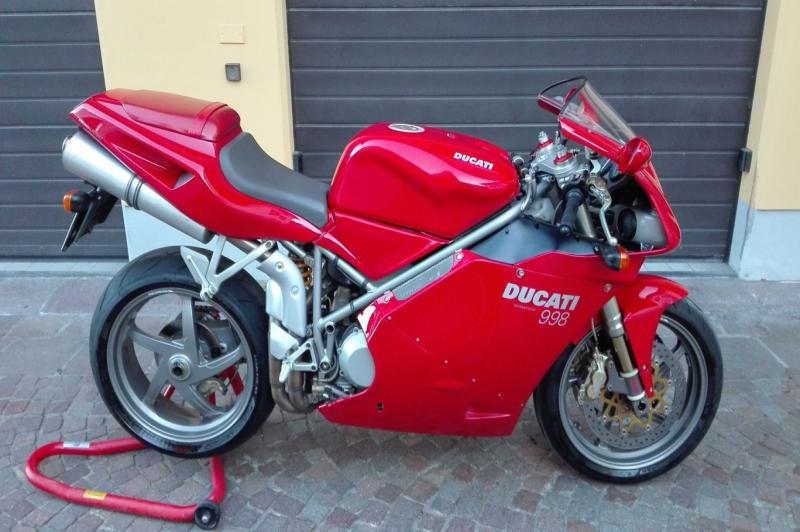 Ducati 998 biposto anno 2003