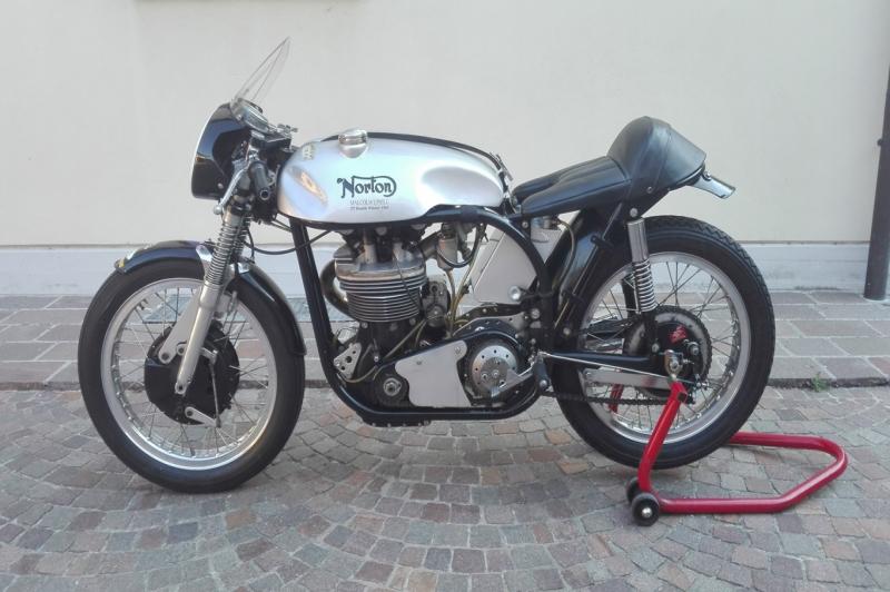 Norton Manx 500 ex. Malcolm Uphill