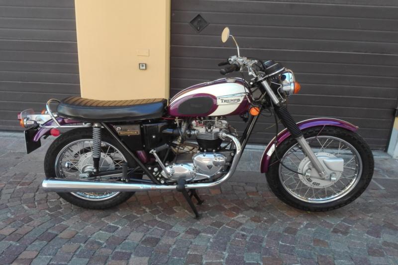 Triumph Bonneville T 120 R