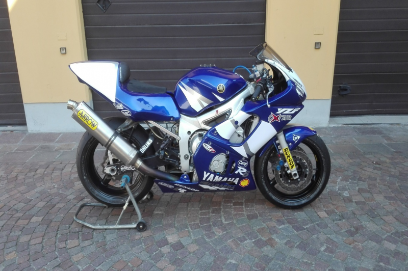 Yamaha R6 mondiale SuperSport 2002 ex Paolo Casoli