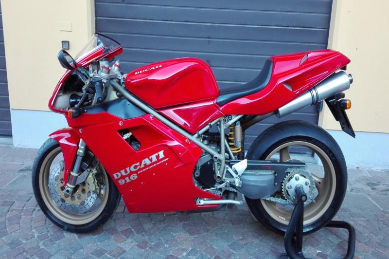 Ducati 916 1a serie monoposto